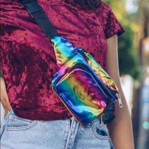 Handbags - Rainbow Fanny pack